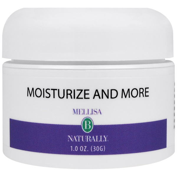 Mellisa B. Naturally, Moisturize and More, 1.0 oz (30 g) (Discontinued Item)
