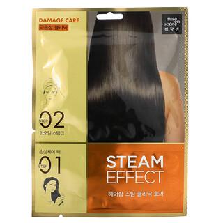 Mise En Scene, Steam Effect Hair Pack, Damage Care, 1 Set