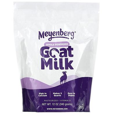 Meyenberg Goat Milk Whole Powdered Goat Milk, 12 oz (340 g)