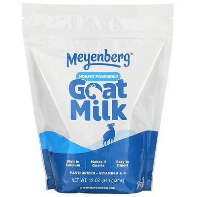 Meyenberg Goat Milk Nonfat Powdered Goat Milk, 12 oz (340 g)