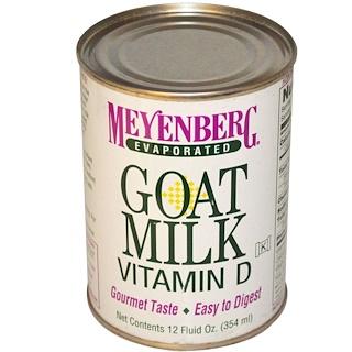 Meyenberg Goat Milk, Evaporated Goat Milk, Vitamin A & D, 12 fl oz (354 ml)