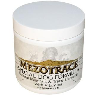 Mezotrace, Special Dog Formula, Natural Minerals & Trace Elements with Vitamins, 1 lb