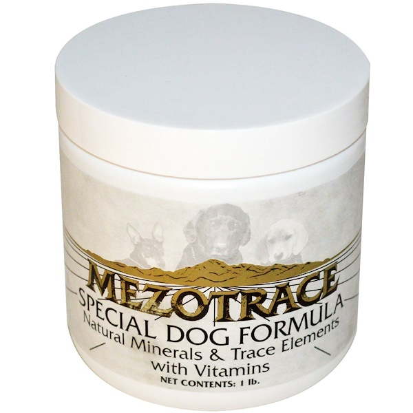 Mezotrace, Special Dog Formula, Natural Minerals & Trace Elements with Vitamins, 1 lb