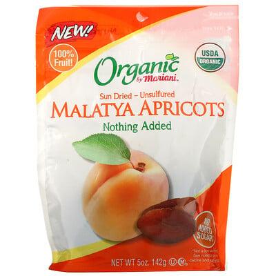 Mariani Dried Fruit Organic, Sun Dried- Unsulfured, Malatya Apricots, 5 oz ( 142 g)