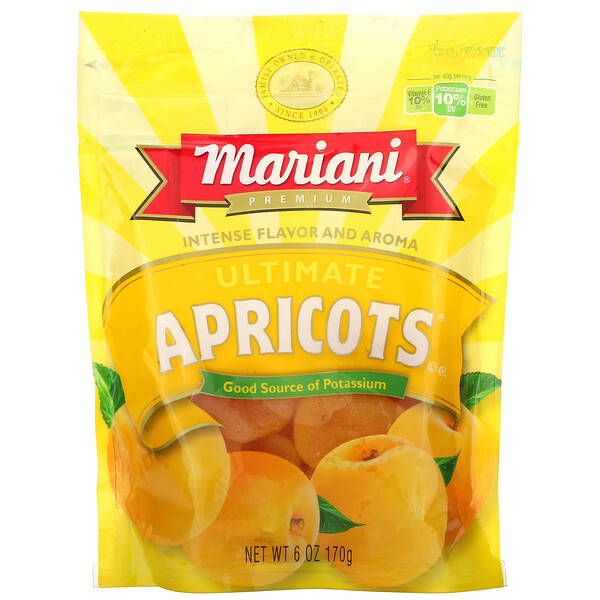 Premium, Ultimate Apricots, 6 oz (170 g)