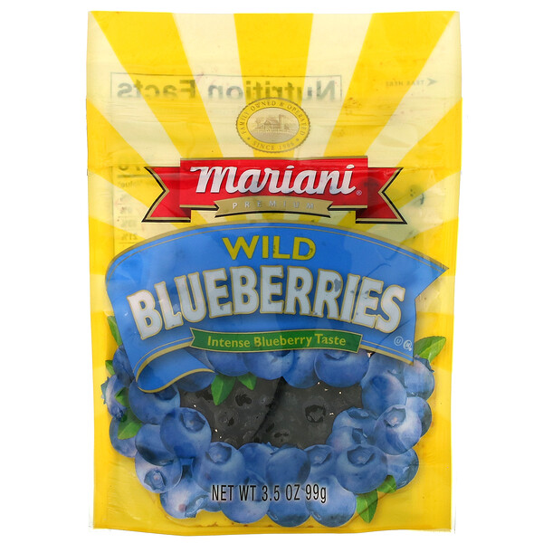 Premium Wild Blueberries, 3.5 oz (99 g)