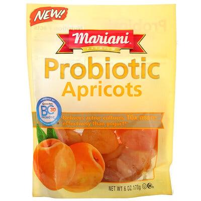 Купить Mariani Dried Fruit Premium, Probiotic Apricots, 6 oz (170 g)