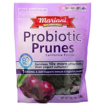Купить Mariani Dried Fruit Family, Probiotic Prunes, 7 oz (198 g)