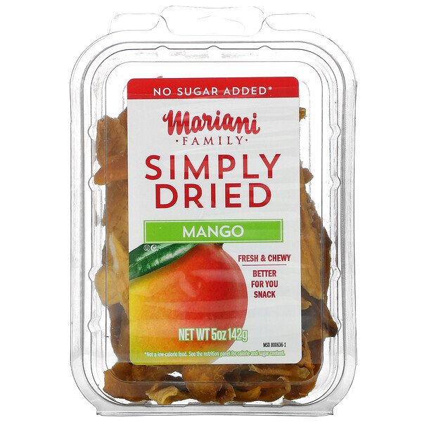 Family, Simply Dried Mango, 5 oz ( 142 g)