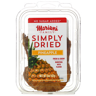 Mariani Dried Fruit, Family, Simply Dried, Pineapple, 5 oz ( 142 g)