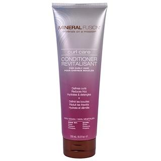 Mineral Fusion, Après-shampoing soin boucles, 8,5 oz liq (250 g)