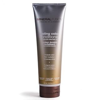 Mineral Fusion, Après-shampoing cheveux colorés, 8,5 oz liq (250 ml)