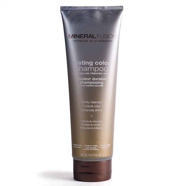 Mineral Fusion, ラスティングカラーシャンプー、8.5 fl oz (250 ml) (Discontinued Item)