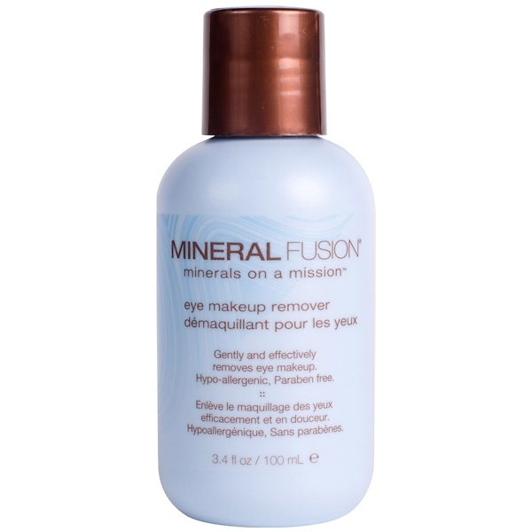 Mineral Fusion, Eye Makeup Remover, 3.4 fl oz (100 ml)