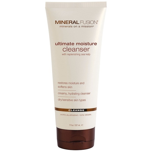 Mineral Fusion, Ultimate Moisture Cleanser, Cleanse, 7 fl oz (207 ml) (Discontinued Item)