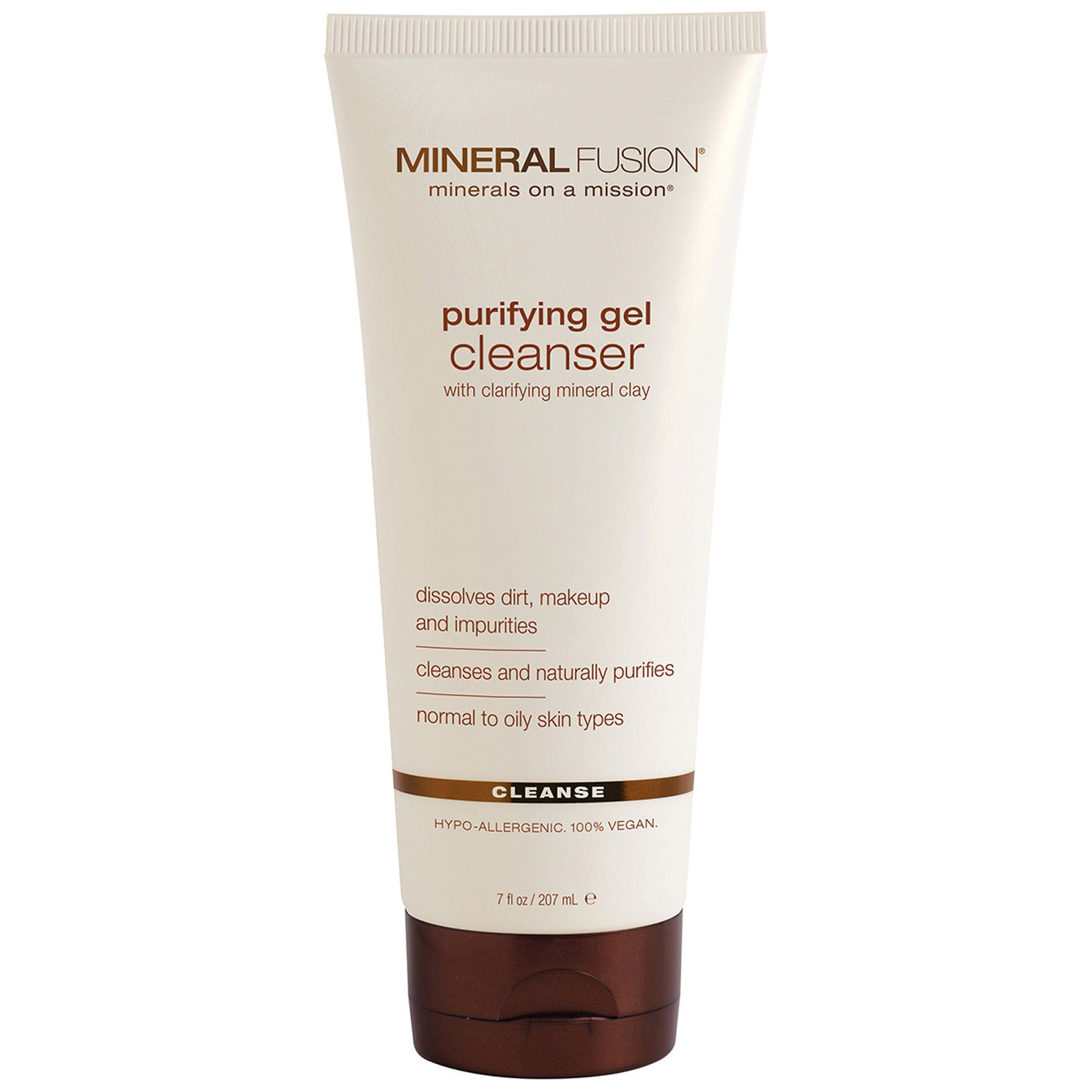 Mineral Fusion, Purifying Gel Cleanser, Cleanse, 7 fl oz (207 ml ...
