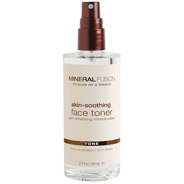 Mineral Fusion, Skin-Soothing Face Toner, 3.3 fl oz (98 ml) (Discontinued Item)