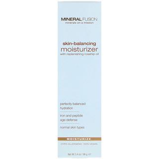Mineral Fusion, Skin-Balancing Moisturizer, For Normal Skin Types, 3.4 oz (96 g)