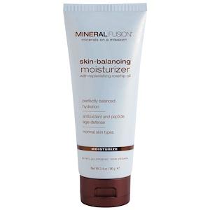 Mineral Fusion, Увлажняющий крем, регулирующий баланс кожи, для нормального типа кожи, 3,4 унции (96 г)