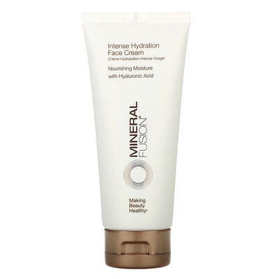 Mineral Fusion Intense Hydration Face Cream, 3.4 oz (96 g)