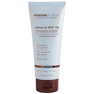 Mineral Fusion, Hydratant minéral IP 40, hydrate, 3.4 oz (96 g)
