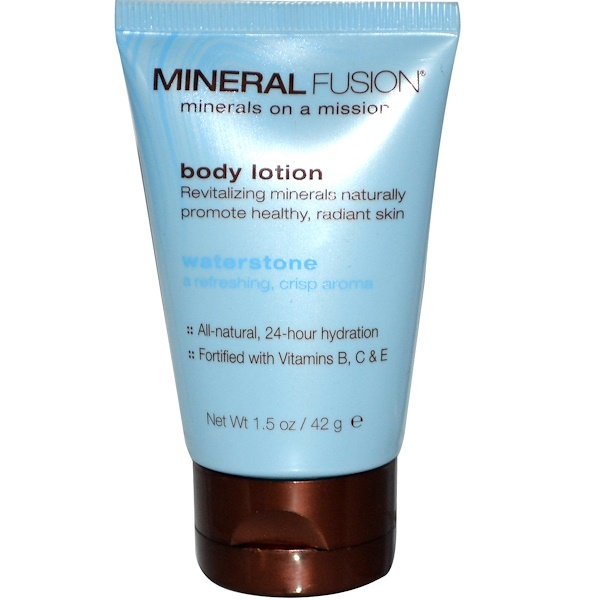Mineral Fusion, Body Lotion, Waterstone, 1.5 oz (42 g) (Discontinued Item)