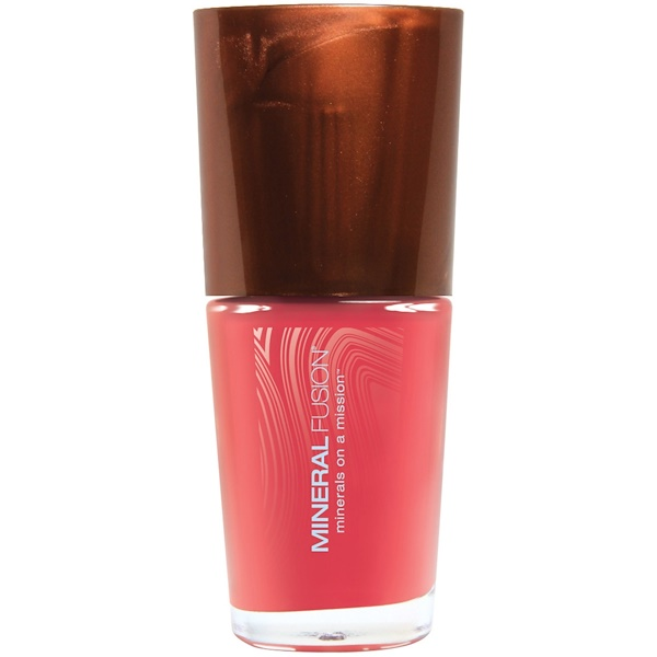 Mineral Fusion, Nail Lacquer, Coral Reef, 0.33 fl oz (10 ml) (Discontinued Item)