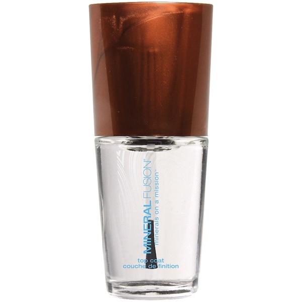 Mineral Fusion, Top Coat , 0.33 fl oz (10 ml) (Discontinued Item)