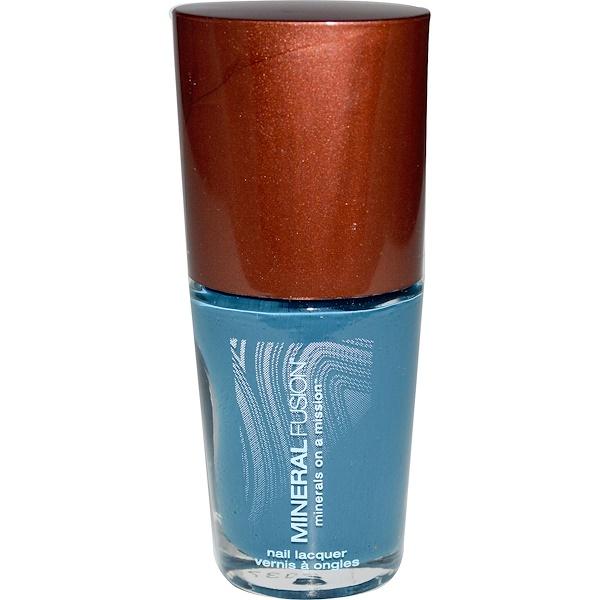 Mineral Fusion, Nail Polish, Sapphire Dream, 0.33 fl oz (10 ml) (Discontinued Item)