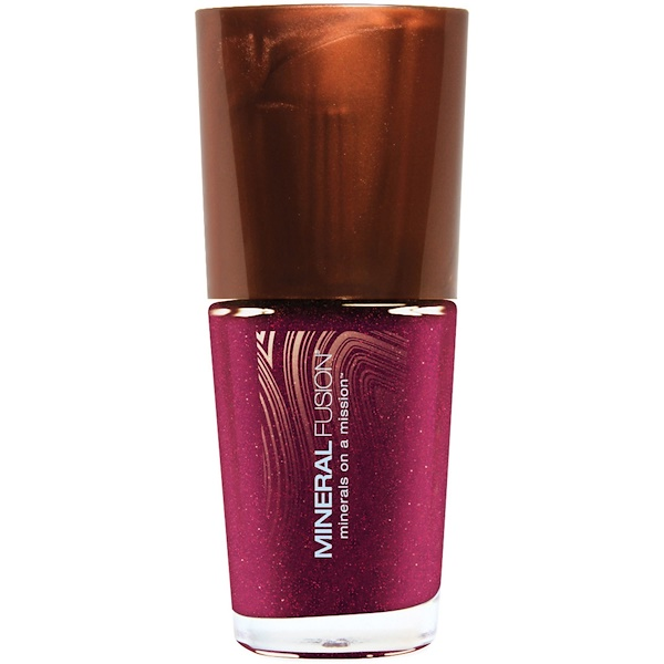 Mineral Fusion, Nail Lacquer, Berried Gem, 0.33 fl oz (10 ml) (Discontinued Item)