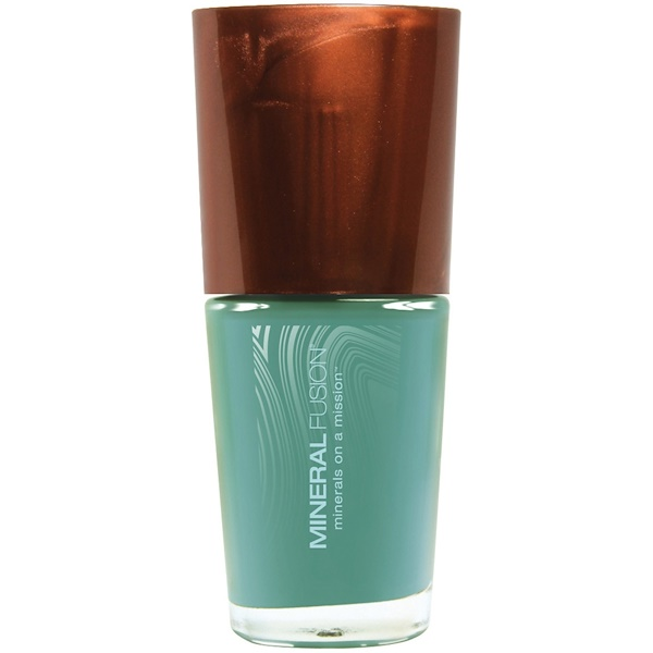 Mineral Fusion, Nail Lacquer, Cerulean Rock, 0.33 fl oz (10 ml) (Discontinued Item)