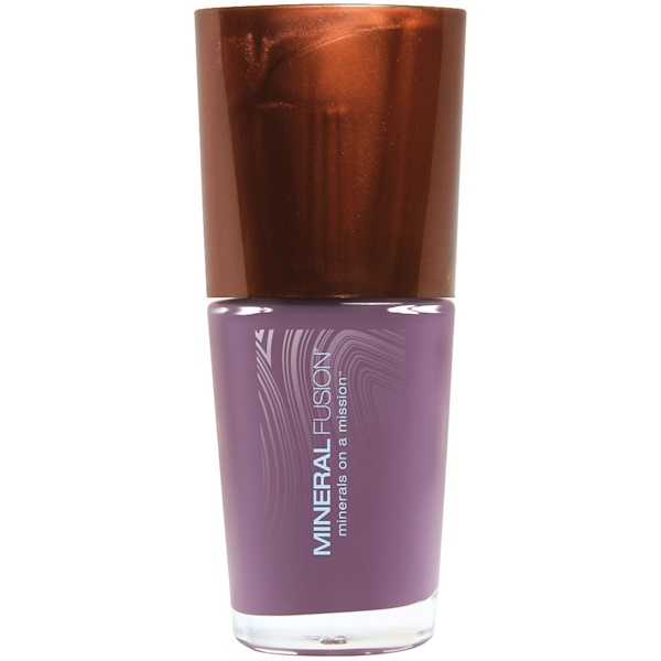 Mineral Fusion, Nail Polish, Mocha Stone, 0.33 fl oz (10 ml) (Discontinued Item)