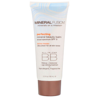 Mineral Fusion, Mineral Beauty Balm, Perfecting, SPF 9, 2.0 oz (60 ml)