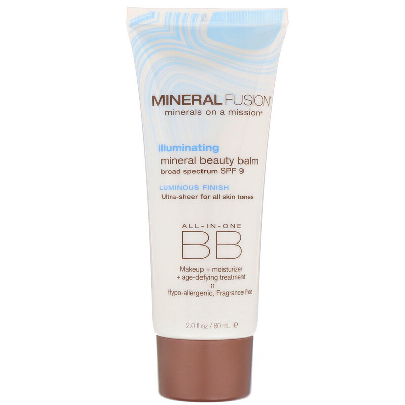 Mineral Beauty Balm, SPF 9, Illuminating, 2.0 oz (60 ml)