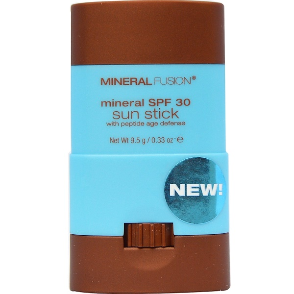 Mineral Fusion, Mineral SPF 30 Sun Stick, Treat, 0.33 oz (9.5 g) (Discontinued Item)