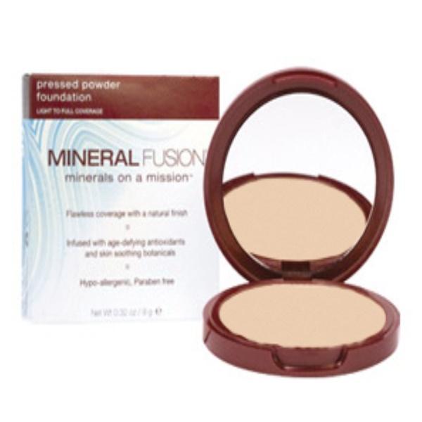 Mineral Fusion, Pressed Powder Foundation, Warm 1, 0.32 oz (9 g) (Discontinued Item)