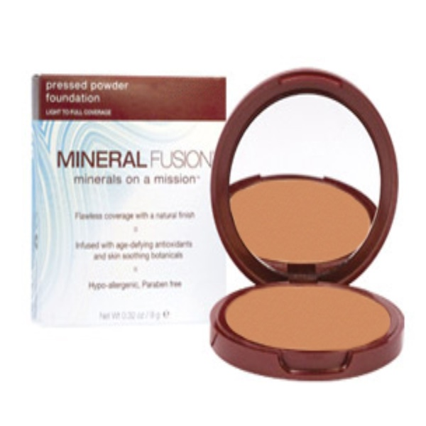 Mineral Fusion, Pressed Powder Foundation, Olive 3, 0.32 oz (9 g) (Discontinued Item)