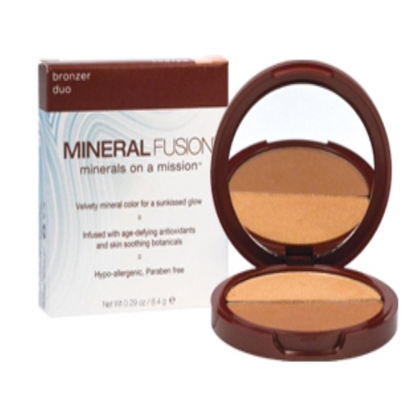 Mineral Fusion, Bronzer Duo, Luster, 0.29 oz (8.4 g) (Discontinued Item)