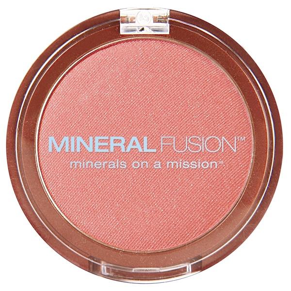 Mineral Fusion, Blush, Flashy, 0.10 oz (3.0 g)