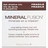 Mineral Fusion, Eye Shadow Trio, Fragile, 0.10 oz (3.0 g)