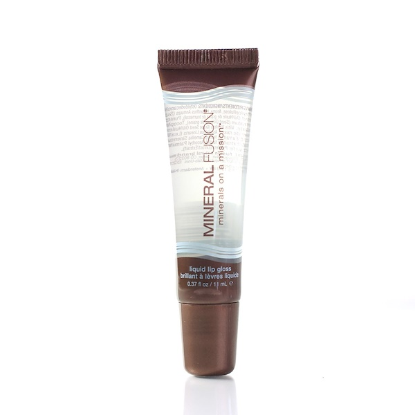 Mineral Fusion, Liquid Lip Gloss, Polished, 0.37 fl oz (11 ml) (Discontinued Item)