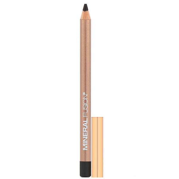 Mineral Fusion, Eye Pencil, Coal, 0.04 oz (1.1 g) (Discontinued Item)