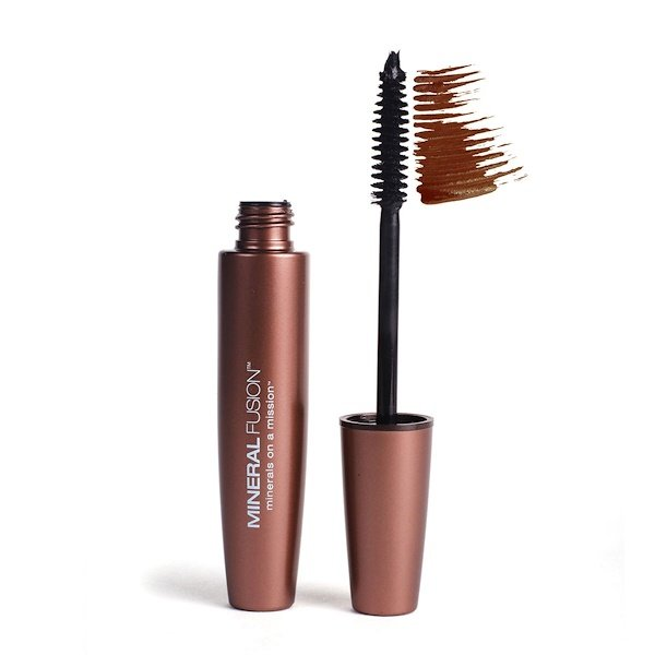 Mineral Fusion, Lengthening Mascara, Rock/Brown, 0.57 fl oz (17 ml) (Discontinued Item)