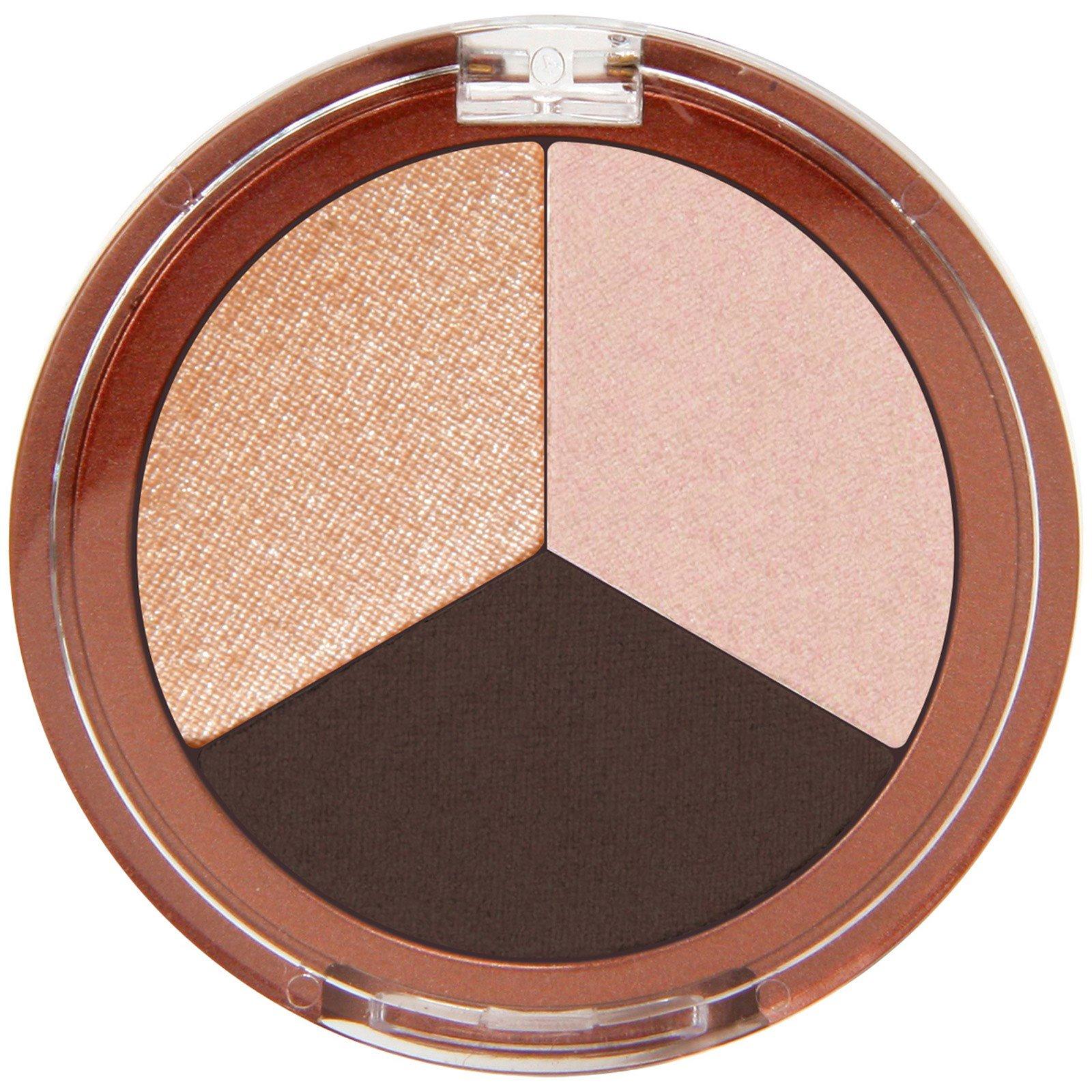 Mineral Fusion, Trío de sombras para ojos, Espresso Oro, 0,10 oz (3 ...