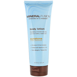 Mineral Fusion, Body Lotion, Sunstone, 8 oz (227 g)