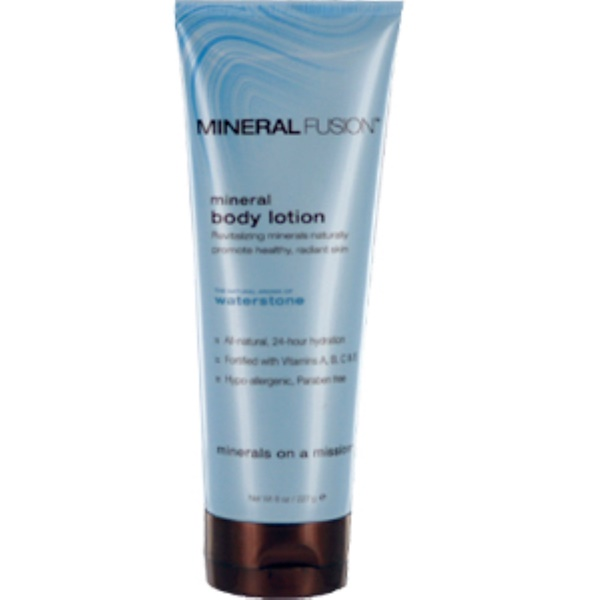 Mineral Fusion, Mineral Body Lotion, Waterstone, 8 oz (227 g) (Discontinued Item)