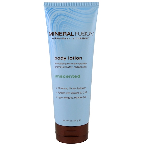Mineral Fusion, Body Lotion, Unscented, 8 oz (227 g)
