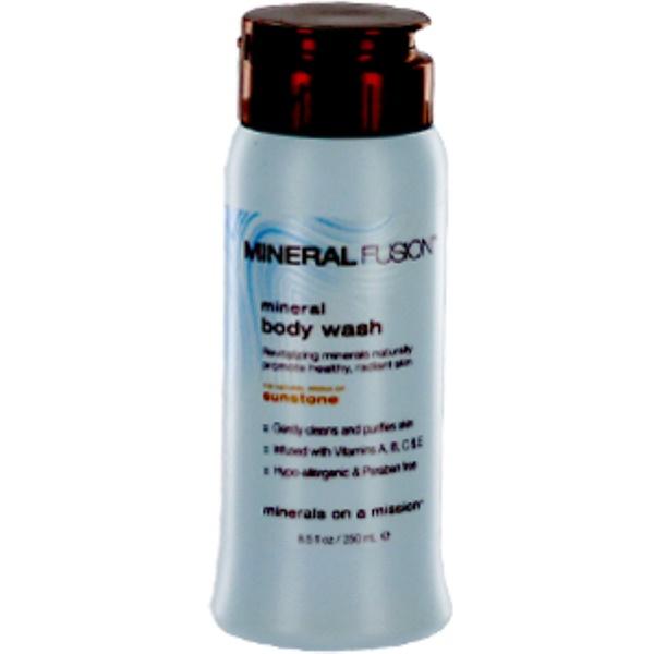 Mineral Fusion, Mineral Body Wash, Sunstone, 8.5 fl oz (250 ml) (Discontinued Item)