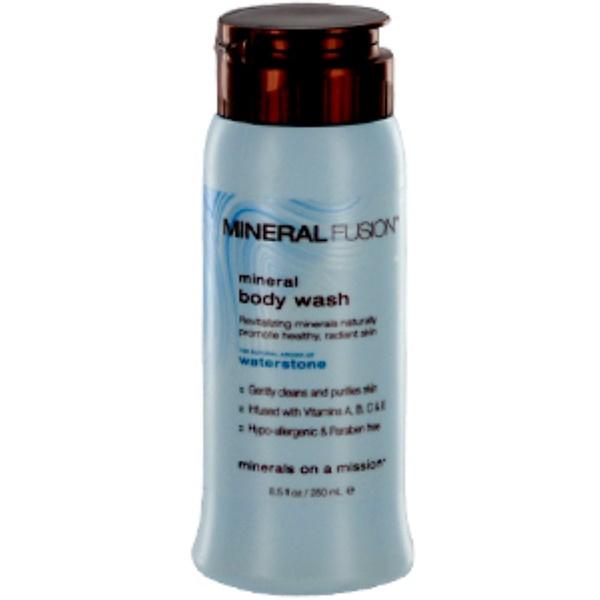 Mineral Fusion, Mineral Body Wash, Waterstone, 8.5 fl oz (250 ml) (Discontinued Item)