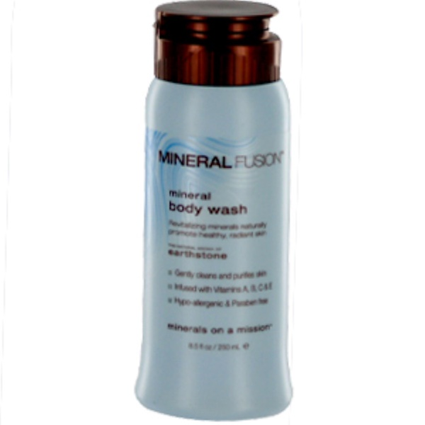 Mineral Fusion, Mineral Body Wash, Earthstone, 8.5 fl oz (250 ml) (Discontinued Item)